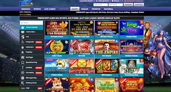 Premium77 Bandar Taruhan Slot Online Server IDN